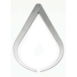 BZ2322-30 Compasso alluminio cm.30