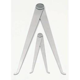 BZ2322-45 Serie 2 compassi in alluminio cm.10.5/20