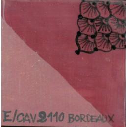 E2110 engobbio rosso bordeaux