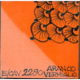 E2290 engobbio arancio vermiglio