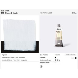018 Bianco Titanio - Maimeri Artisti