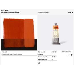 058 Arancio Indanthrene - Maimeri Artisti