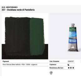 357 Ossidiana verde di Pantelleria - Maimeri Mediterraneo