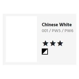 001 Chinese white - Acquarello Aquafine