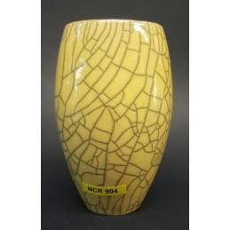 Mcr904 Cristallina Craclè Raku Giallo chiaro